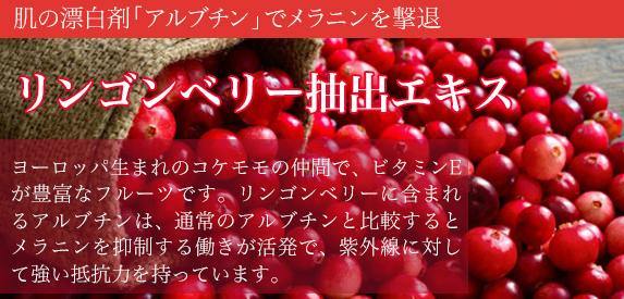 雪肌ドロップに配合されているリンゴベリー抽出エキス